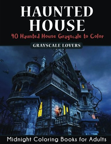 r Midnight Coloring Books Challenge (Haunted House Mysteries, Band 1) (Halloween-midnight)