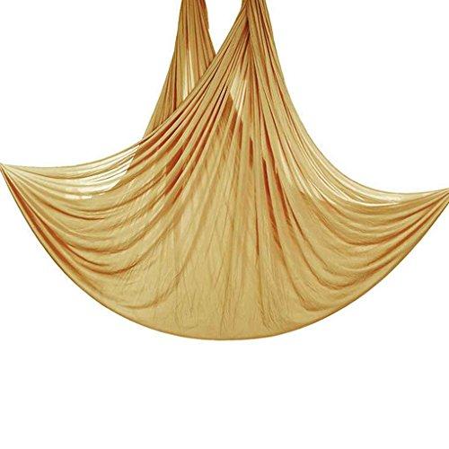Bobury 5m lungo 2.8m larghezza aerea volare anti-gravity yoga palestra amaca pilates body building fitness swing belt