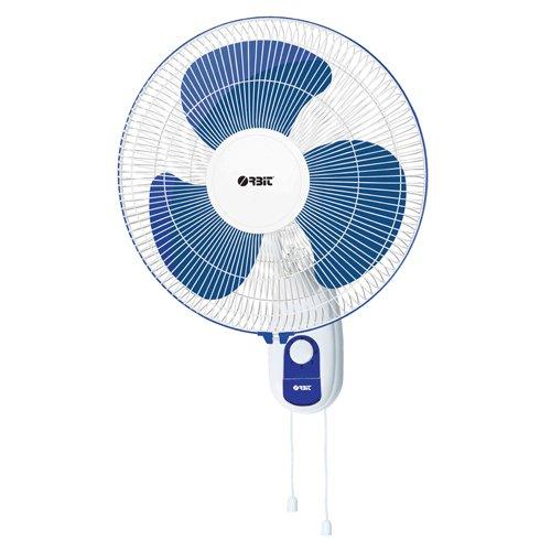 Orbit WF-1610 Wall Fan (White & Blue)