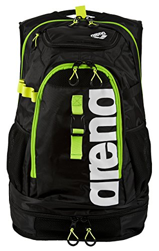Teile Sportschuh (arena Unisex Profi Triathlon Rucksack Fastpack 2.1 für Schwimmer und Triathleten (11 Fächer, 40x35x55cm), Dark Grey-Acid Lime-White (16), One Size)