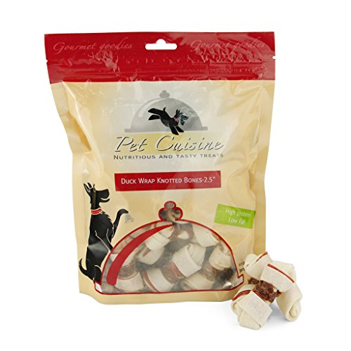 Pet-Cuisine-Premium-Dog-Treats-Puppy-Chews-Snacks-Duck-Wrap-Natural-Rawhide-Bones-25-340g