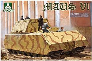 TAKOM Tak de 2049Maqueta de WWII German Super Heavy Tank Ratón V1, Juego