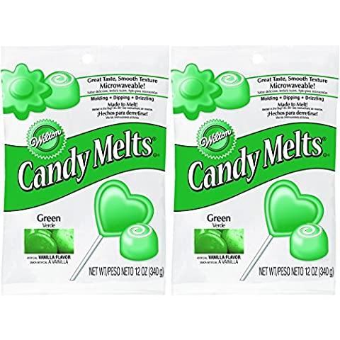 Wilton Candy Melts Dark Green 12-Ounce by Wilton