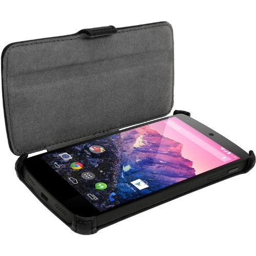 igadgitz-premium-folio-nero-eco-pelle-custodia-case-cover-per-lg-google-nexus-5-con-sleep-wake-suppo