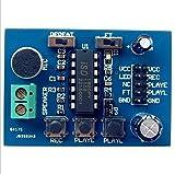 Demarkt ISD1820 Voice-Board Sprachmodul Tonaufnahme Modul on-Board-Mikrofon
