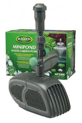 Interpet Pompe 2000 Mini-étang Pour des fontaines, des filtres, des cascades et des fonctions