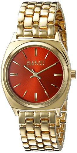 August Steiner Reloj con movimiento cuarzo japonés   35 mm