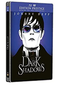 Dark Shadows [Édition Prestige boîtier SteelBook - Combo Blu-ray + DVD + Copie Digitale]