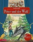 Peter und der Wolf mit CD: Das musikalische Märchen von Sergej Prokofjew (Musikalisches Bilderbuch mit CD)