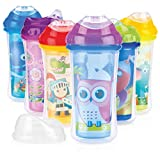 Nuby Ultra Cup - Vaso anti-derrame isolado, 270 ml