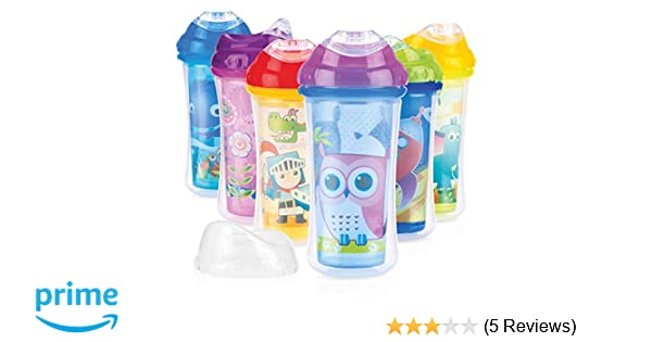 Robots Nuby Insulated Cool Sipper Beaker
