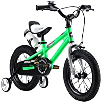 """Royalbaby freestyle boy's girl's kids children child bike bicycle 6 colours, 12"""", 14"""", 16"""", 18"""" with stabilisers, water bottle and holder."""