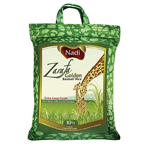 Nadi Zarafa Golden Basmati Rice, 1er Pack (1 x 5 kg)