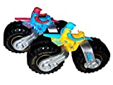 #9: Sunshine Friction Powered Motorcycle Toy, 5 Inches, Unbreakable ,Set of 2, Multi-colored