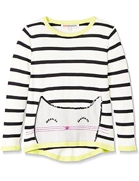 REDWAGON Mädchen Pullover mit Katzen-Motiv