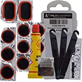 VeloChampion Bike Puncture Repair Kit Patches Glue Levers case 11 pcs