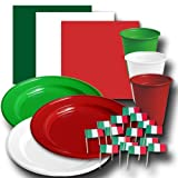 Italien Partygeschirr-Set BASIC