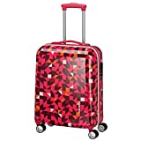 travelite Campus 4 Rad Trolley S Quadro Pink