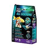 JBL 4124800 ProPond All Seasons, Nourriture Toutes Saisons pour Carpes Koï, Bâtonnets flottants, Nourriture de Saison, Taille S, 1100g