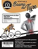 Patch Baume du Tigre Chauffant, Anti Douleur, Anti Inflammatoire, Mal de Dos, Douleurs Musculaires et Articulaires, Courbatures - Menthol et Camphre de la Médecine Chinoise - Lot de 10