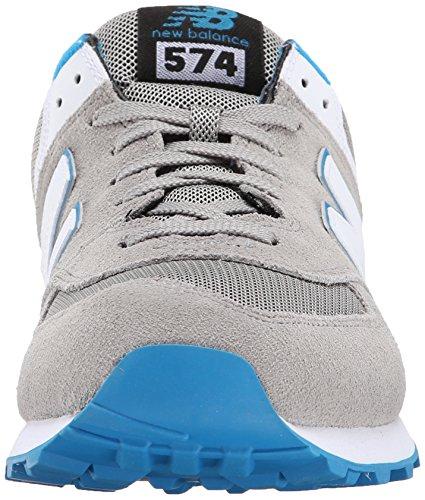 New Balance, NBML574CVFD12, Sneaker, Uomo Grigio
