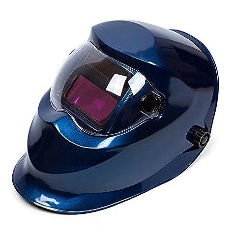 Babimax Masque de Soudure Automatique Sécurité anti-éclaboussure Masque Ouvrier Soudeur