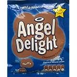 Aves Ángel Delight sabor chocolate 6 x 59gm bolsita