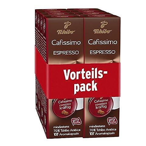 Tchibo Cafissimo Espresso kräftig 80 Kapseln