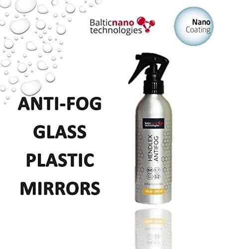Hendlex Anti Fog - Antibeschlag Spray für Windschutz, Spiegel und Helm Visiere Imprägnierspray (200 ml)