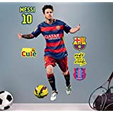 Official FC Barcelona Messi Sticker – Leo Messi 120 cm