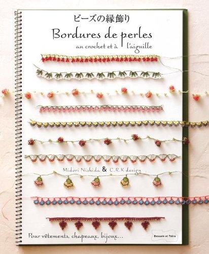 Bordures de perles au crochet et à l'aiguille