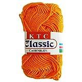 #4: Classic Tiger Orange Knitting Yarn