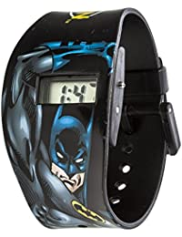 Batman Boy 's digital reloj de mujer con esfera negra pantalla digital y correa de plástico en color negro bat58dc