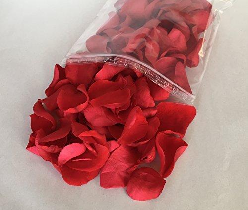 Pétalos de rosa artificiales para decoracion de boda