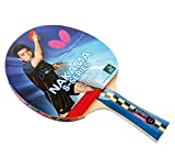 Butterfly Nakama S-4 Table Tennis Racket – ITTF Approved Ping Pong Paddle –