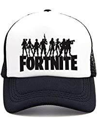 Memoryee Fortnite 3D Impreso Sombrero de Malla de sombrilla de Béisbol Hat para Niños y Adultos Inspirada PS4 Xbox Gaming… HI4dklHC