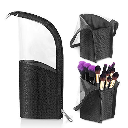 Makeup Pinselhalter, Meigirlxy Kosmetik Organizer Travel Make-up Cup Tasche Brush Aufbewahrungsbox - Organizer Tasche Make-up