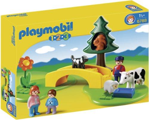 Playmobil 1.2.3 - Pradera con Sendero 6788