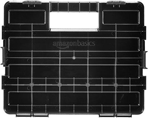 AmazonBasics - Organizador de herramientas, compartimentos ajustables