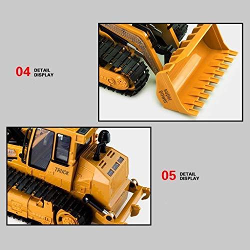 RC Auto kaufen Kettenfahrzeug Bild 4: TianranRT 1: 12 RC Bagger Schaufel Fernbedienung Kontrolle Bau Planierraupe LKW Spielzeug Licht*