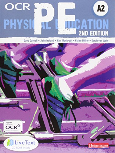 OCR A2 PE Student Book (OCR A Level PE) for sale  Delivered anywhere in UK