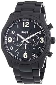 Fossil End of Season Analog Black Dial Men's Watch - FS4864