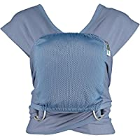 Caboo Lite- Multi Position Baby Carrier (Faded Denim)