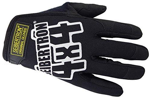 Seibertron Porter mecanicien Gants originales tactique gants des gants de velo Blanc Lettre L