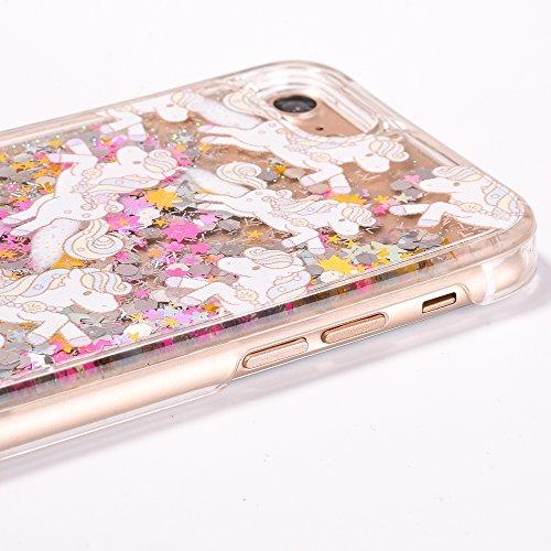 Voguecase® Pour Apple iPhone 7 4,7, Rigide Plastique Shell Housse Coque Étui Case Cover(Transparent)de Gratuit stylet l'écran aléatoire universelle Cheval volant-coloré