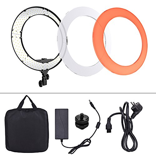 Andoer-LED-ring-light-luce-fotografica-18-pollice-HD-luce-circolare-con-14-vite