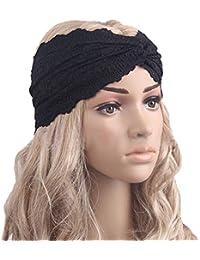 Fletion Moda Elegante pizzo elastico Fascia per capelli Yoga Sport  Cerchietto per capelli Turbante Headwear Accessori d0f345185bd3