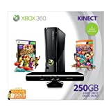 Xbox 360 250GB Holiday Value Bundle with Kinect by Microsoft
