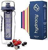 Die besten Obst Infuser Wasserflaschen - Hydracy Trinkflasche für Fruchtschorlen 1L -Sport Wasserflasche Bpa Bewertungen
