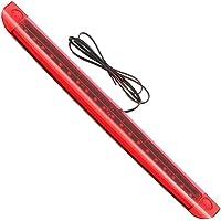 Nrpfell uto LED d lto Livello Terza Luce Freno Freno Posteriore Luce Posteriore for 6 VANT S6 C6 2005-2011 4F9945097